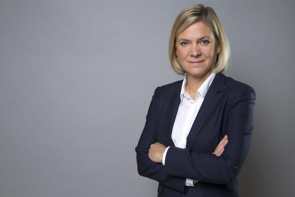 Magdalena Andersson Finansminister Finansdepartementet Statsråd Foto: Kristian Pohl/Regeringskansliet