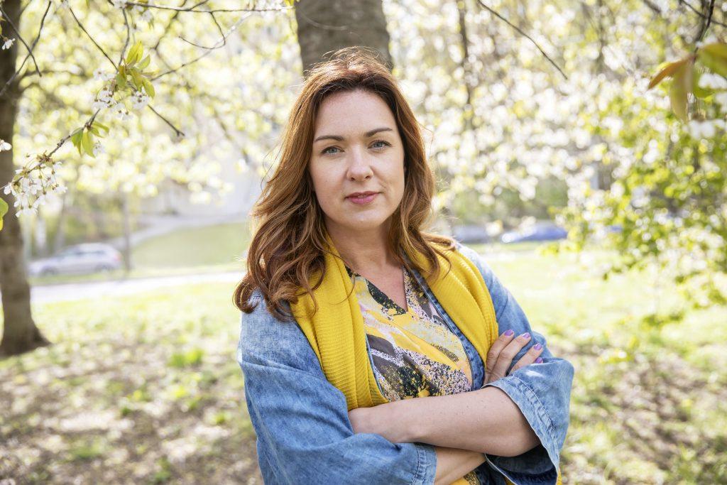Veronica Magnusson, förbundsordförande i Vision.